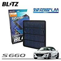 BLITZ ブリッツ サスパワー エアフィルター LM WH-700B 59619 S660 JW5 15/04~ S07A(Turbo)
