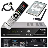 Megasat HD Twin SAT Receiver HD 935 V2 mit 1 TB Festplatte und W-LAN Stick (PVR, USB, LAN, W-LAN, HDMI) Mediacenter und Live TV auf Ihrem mobilen Gerten
