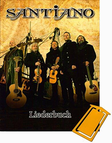 Santiano Liederbuch Klavier/Gesang/Gitarre (Noten/sheet music] mit praktischer Notenklammer
