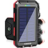 Best Solar Chargers - Solar Charger YOESOID 20000mAh Portable Outdoor Waterproof Solar Review