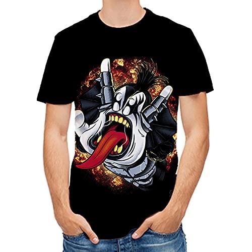 SSBZYES Camisetas De Verano para Hombre Camisetas De Talla Grande para Hombre Camisetas con Estampado De Tigre para Hombre Camisetas De Fondo para Hombre Camisetas para Hombre Camisetas Pintadas