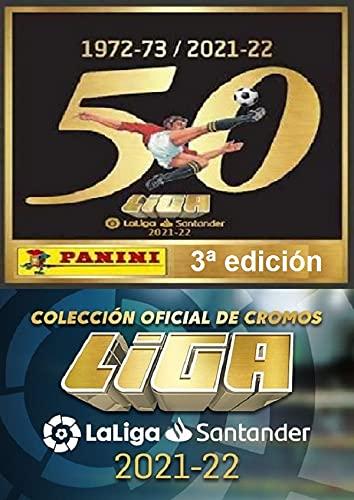 Panini 3ª Edicion - Caja con 50 Sobres de la Liga Este 2021-2022