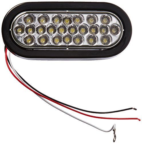 Buyers Products 6' Oval LED Recessed Strobe Light, Clear