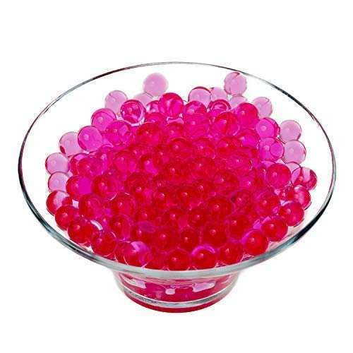 Trimming Shop Wasser Wasser Perlen Vase Nicht Giftig Crystal Pearl Gel Füller Heimküche Hochzeit Geburtstagsparty Tisch Tafelausatz Dekoration – 5000 Stück Von - Hot Pink