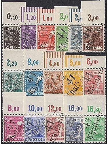 Goldhahn SBZ Nr. 166-181 ohne Nr. A179 postfrisch  Bezirk 41 Thalheim Oberrandsatz Briefmarken für Sammler
