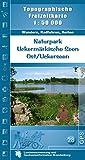 Naturpark Uckermärkische Seen Ost/Uckerseen: Topographische Freizeitkarte 1:50000 (Topographische Freizeitkarten 1:50000, Land Brandenburg)