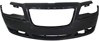 MBI AUTO - Painted to Match, Front Bumper Cover Fascia for 2011 2012 2013 2014 Chrysler 300 W/Park 11 12 13 14, CH1000A01