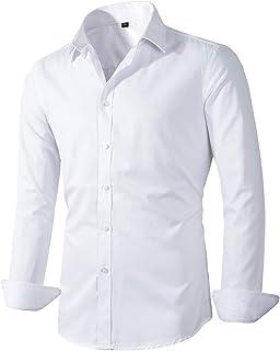 Sponsored Ad - Beninos Men's Dress Shirts Fitted Poplin Solid