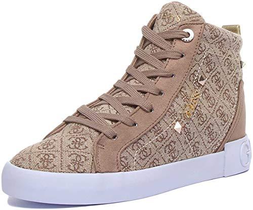Guess Damen I-Portly2-Eu Hohe Sneaker, Braun (Brown BEIBR), 39 EU