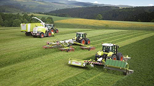 Trucks And Tractors In The Field - Jigsaw Puzzles For Adults...