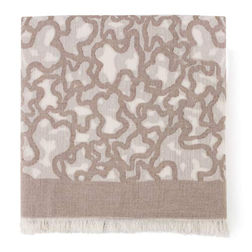 Foulard Kaos en color piedra (595920129)