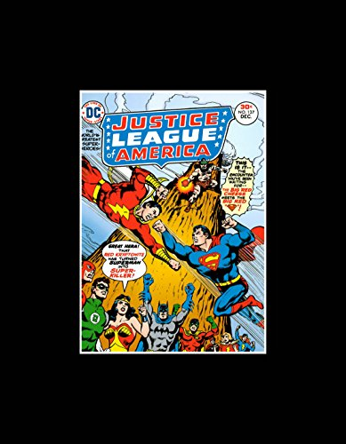 Stick It On Your Wall Justice League of America–The Worlds Greatest Unterhose Superhelden Mini-Poster–36x 28cm