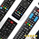Belson - Mando A Distancia TELEVISIÓN Belson - Mando TELEVISOR Belson Mando A Distancia para Belson TV - Compatible Todas Las Funciones Belson