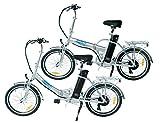 swemo EIN Paar (2 STK.) 20 Zoll Alu Klapp E-Bike/Pedelec SW100 & SW200 (Silber)