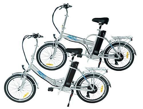 swemo EIN Paar (2 STK.) 20 Zoll Alu Klapp E-Bike/Pedelec SW100 & SW200 (Silber)*