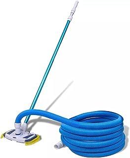 vidaXL Zestaw do czyszczenia basenu, odkurzacz podłogowy, basenowy, szczotka do podbieraka, drążek teleskopowy