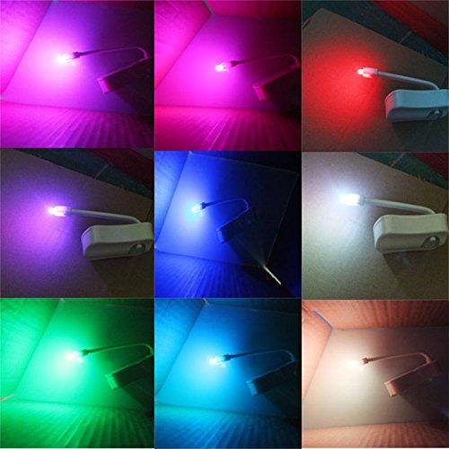便座 LED 人感センサー ライト ランプ トイレ 足元ライト 常夜灯 便所ライト トイレ用 ライト 段階の角 自動人感センサー 8色変換 便器 玄関 お手洗い ミニ夜灯 節電 照明用