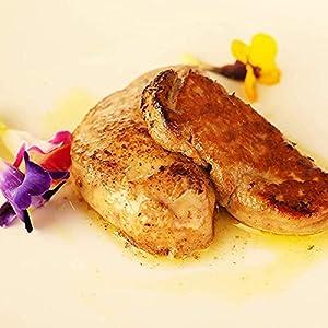 ハンガリー産 高級 フォアグラ ポーション カット 600g(200g×3) / 鴨肉 焼くだけ簡単 世界三大珍味 冷凍食品 ステーキ