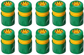 """CRZD 10Pcs 1/2"""" Garden Tap Water Hose Pipe Quick Connectors Irrigations Thread Joint System Garden Accessories (Color : Gr..."""