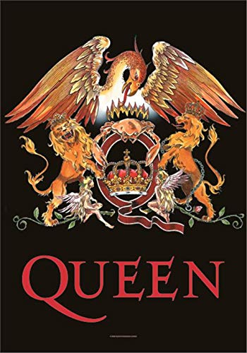 new Officially Liscenced Product Queen Crest Textile Poster/Flag