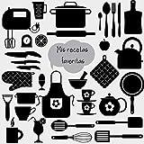 Mis recetas favoritas: ¡Vamos a cocinar! Libro de recetas en blanco personalizado para crear tus propios platos deliciosos - XXL - cuaderno de recetas de cocina para escribir hasta 100 recetas