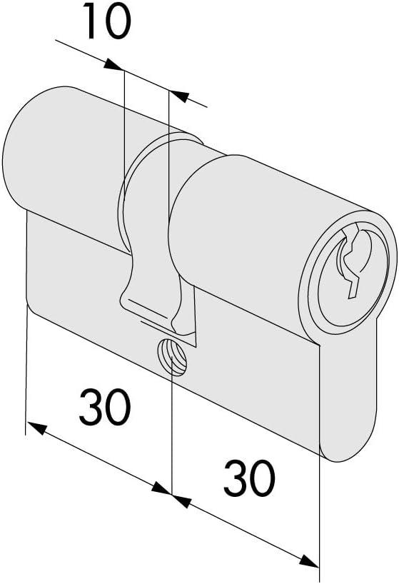 Cilindro Inf.Yale 53,0 – 26,5 – 26,5 0 G300 – 05 – 0 Cisa [Cisa]