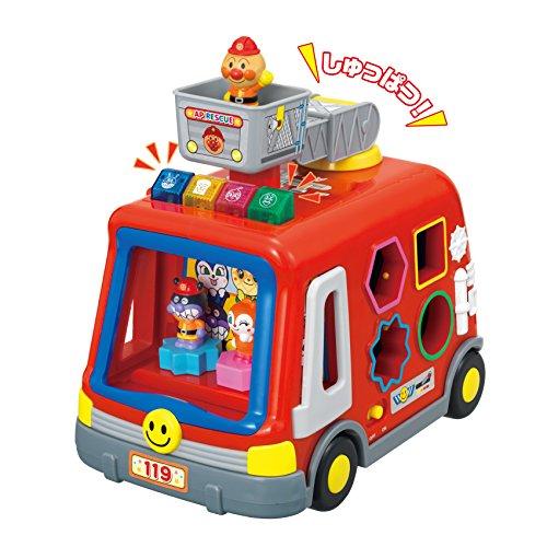 Anpanman geluid en licht en gevuld met Tots! DX brandweerwagen puzzel