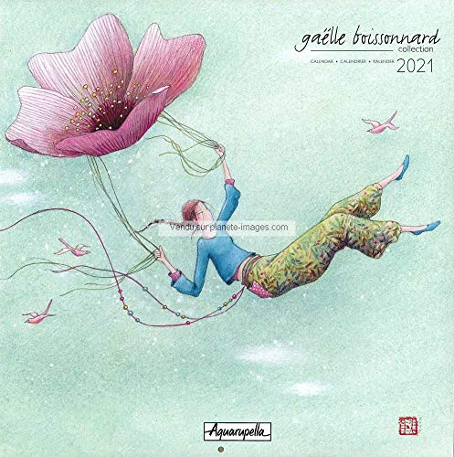 Kalender 2021 Gaëlle Boissonnard – Immer höher – 30 x 30 cm