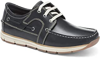 Pavers Mens Casual Lace Up Shoes Leather Uppers