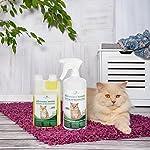 Produit Nettoyant et Eliminateur d'odeur Bio pour Chats Ecosharkz Animal - Spray désodorisant anti urine pour intérieurs avec chat et litière - Concentré de 500ml - jusqu'à 25L de solution nettoyante #2