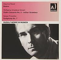 Violin Concerto No. 5/Symphony No.7/Bolero by Grumiaux/Sinfonieorch. des Bayrischen Rundfunks