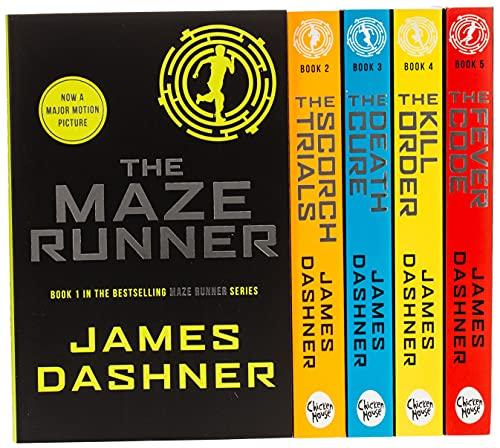 Maze Runner Series James Dashner 5 Books Collection Set Pack