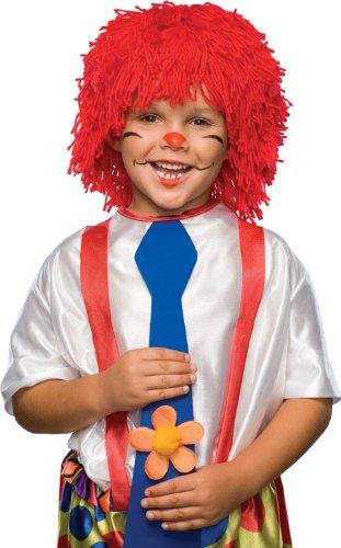 Rubies Rag Doll Boy Yarn Hair Wig