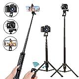 Best GoPro Compact Selfie Sticks - Selfie Stick Tripod,54 Inch Extendable Phone Tripod Review