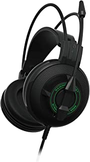 WAJI Headset DJ Headphones with Stereo, Voice with Wheat subwoofer Computer Headset, Noise canceling Headphones,-Green