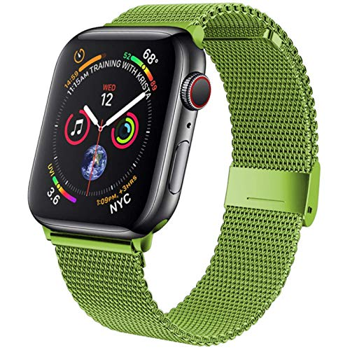 Correa para Apple Watch Band 42 mm   38 mm Acero inoxidable Correa de metal pulsera iWatch series 5 4 se 6 40 mm 44 mm
