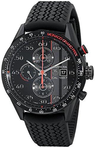 TAG Heuer Car2A83.FT6033 Herren-Armbanduhr, analoges Display, Schweizer Automatik, Schwarz