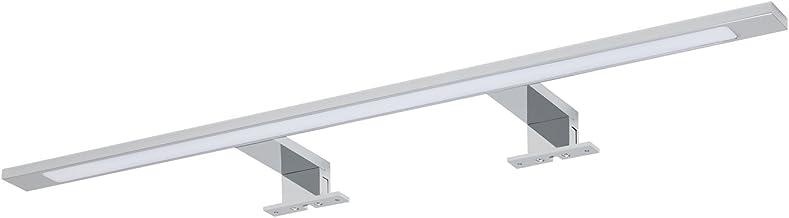 Tiger Alya LED Spiegelverlichting, Aluminium, Vinyl, Chroom, 74 x 3,9 x 11 Cm