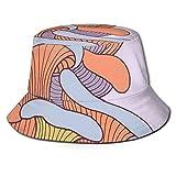 Sombrero de poliéster, ilustración de ramas de viento abril clima en estilo de pintura japonés, sombrero de sol para hombres y mujeres