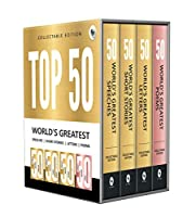 Top 50 World?s Greatest Short Stories, Speeches, Letters & Poems, COLLECTABLE EDITION (Box Set of 4 Books)