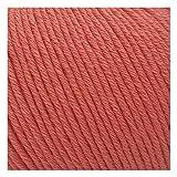 Gazzal 50g Organic Baby Cotton weiche Babywolle Stricken 100% Baumwolle Bio 115m/50g Wolle türkische Wolle (419)