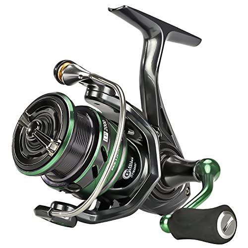 SeaKnight WR III Mulinello da Spinning 5.2: 1 Mulinelli da Pesca d Acqua Dolce Pesca alla Carpa 2000 2500 3000 4000 5000 Sistema di trascinamento in Fibra di Carbonio Potenza Massima 13kg   28.6lb