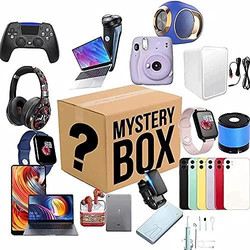 LUOQI Caja De La Suerte,aleatorios Caja misteriosa,Caja Sorpresa,Se Puede Abrir:Drones, Relojes Inteligentes, etc, Todo es Posible, Todos los artículos Son nuevos