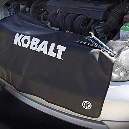 Kobalt 856864 24-Inch x 36-Inch Heavy Duty Vinyl Non-scratch Magnetic Fender Cover