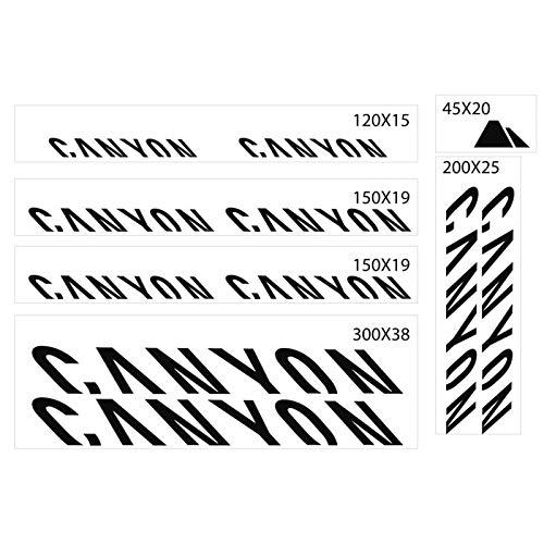 BLOUR Adhesivo de Marco para Canyon Road Bike Mountain Bike MTB Race Calcomanías de Ciclismo