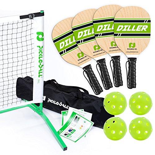 Pickle-Ball, Inc. Pickleball Diller Tournament Net Set