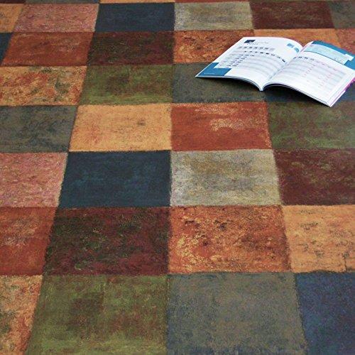 PVC Bodenbelag Latina Multicolor (12,95 € p. m²) (Muster DIN A4)