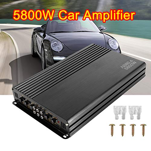 Best Buy! 5800W 12V 4 Channel Car Amplifier Stereo Audio Super Bass Power Subwoofer Amp
