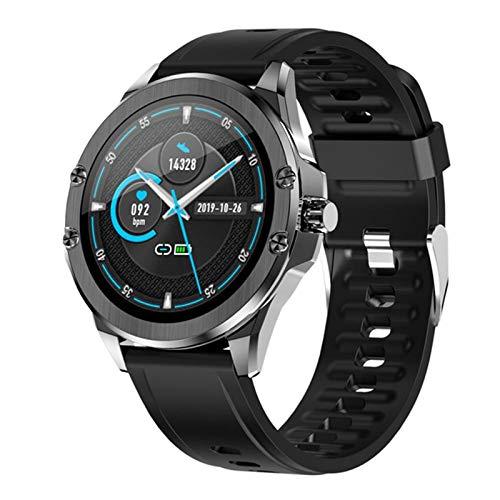 RCH S11 Smart Watch 1.28 Pulgadas IPS Pantalla De Color IP67 Impermeable Al Aire Libre Deportes De Salud Monitoreo Inteligente Pulsera para Android iOS,E