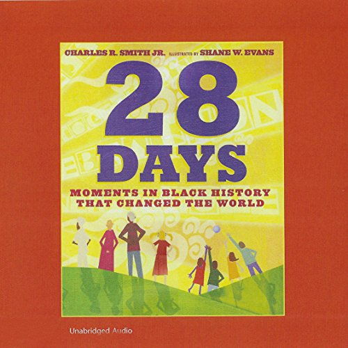 28 Days audiobook cover art